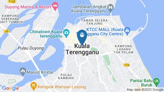 Paya Bunga Hotel Terenganu Map