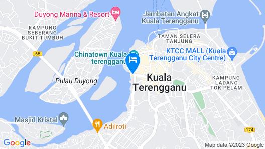 Hotel Seri Malaysia Kuala Terengganu Map
