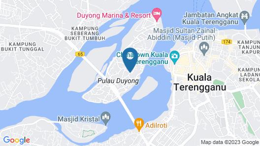 Duyong Marina & Resort Map