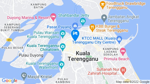 DJ Citi Point Hotel Map