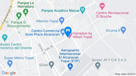 Hampton by Hilton - Yopal, Colombia Map