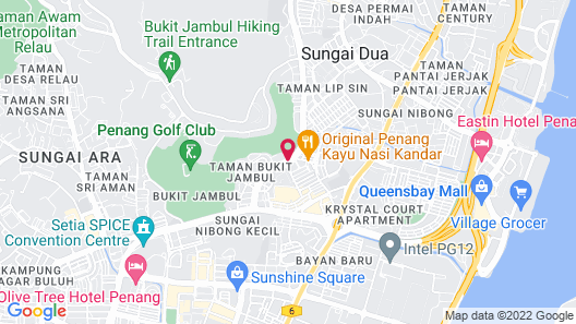 AC Hotel by Marriott Penang Map