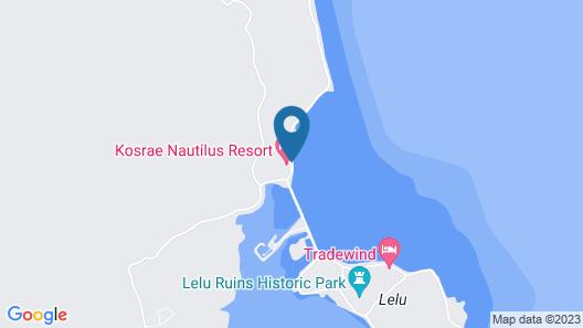 Kosrae Nautilus Resort Map