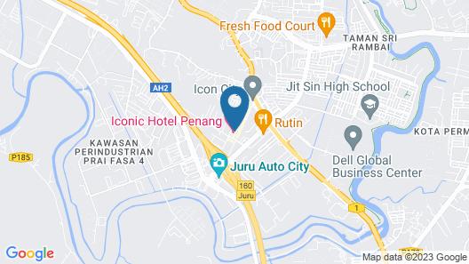 Iconic Hotel Penang Map