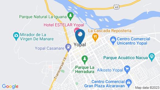 Hotel Quinta Estacion Map
