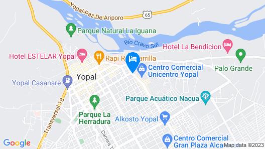 Holiday Inn Express Yopal Map