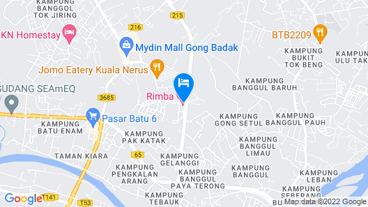 Rimba Hotel Map