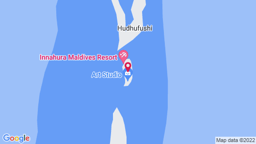 Innahura Maldives Resort Map