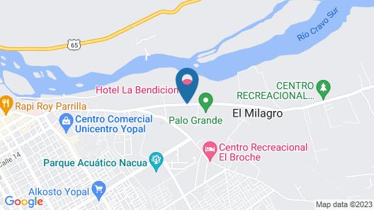 Hotel Campestre La Bendición Map