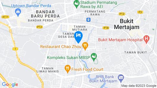 Mama Mia Home - Bukit Mertajam Map