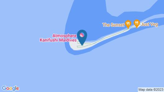 Atmosphere Kanifushi Maldives Map