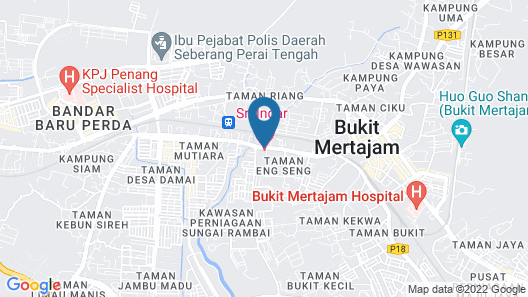 OYO 510 Sri Indar Hotel Map