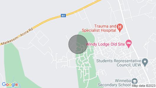 Winneba - Ideal Short-Term & Long-Term Guest House Map