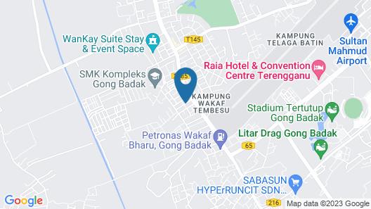 Mangga Guesthouse Map