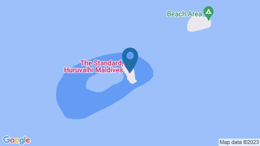 The Standard, Huruvalhi Maldives Map