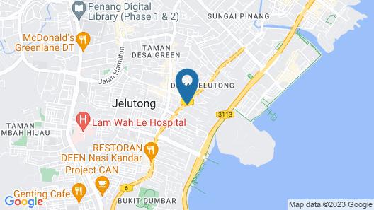 Straits Garden Comfort Suite Map