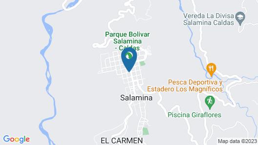 La Casa De Lola Garcia Hotel Boutique Map