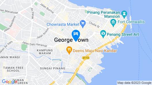 JEN Penang Georgetown by Shangri-La Map