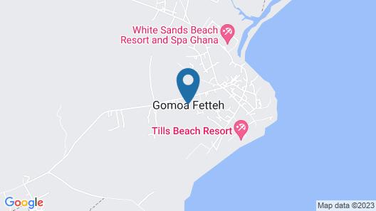 Till's Beach Resort Map