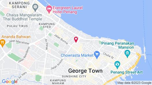 Georgetown Hotel Map