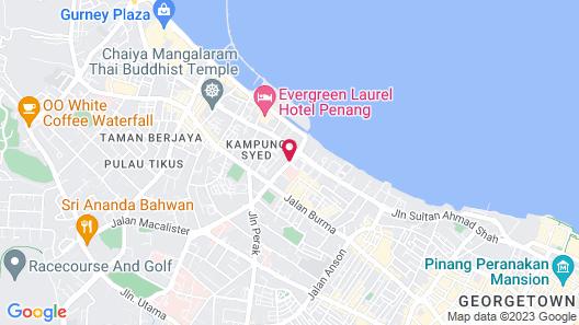 Vouk Hotel Suites Map