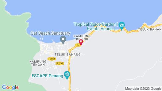 Bahang Bay Hotel Map