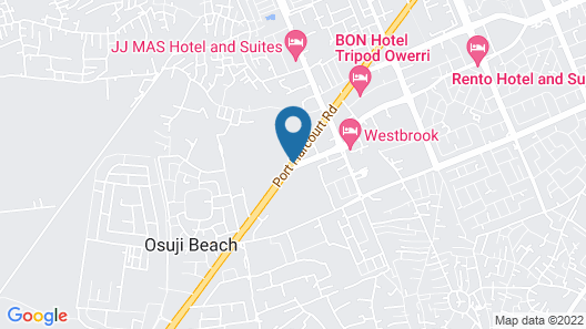 Immaculate Royal Int'l Hotel Map