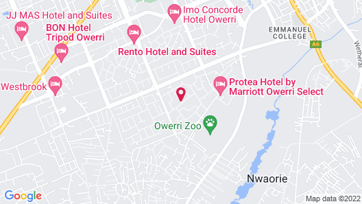 Green Palm Apartments Map