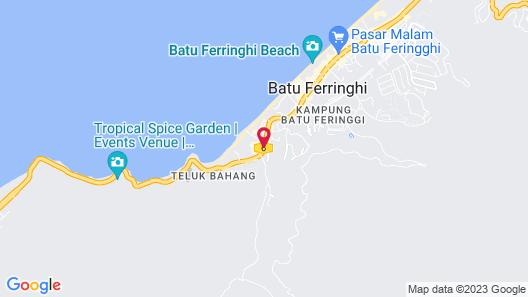 Bayview Beach Resort Map