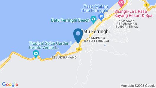 Hard Rock Hotel Penang Map