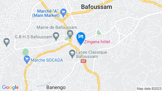 Hotel Zingana Map