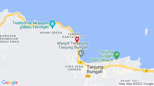 Lost Paradise Resort Map