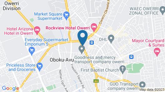 JJ Mas Hotel Map