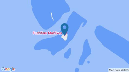 Fushifaru Maldives Map