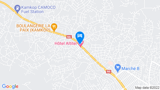 Hotel Altitel Map
