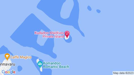 Kudadoo Maldives Private Island– Luxury All inclusive Map