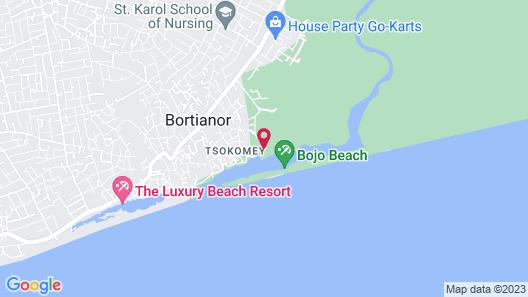 Bojo Beach Resort Map