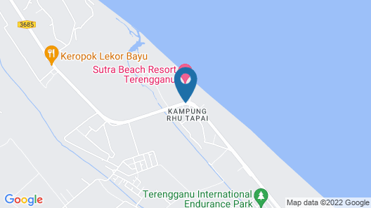 Sutra Beach Resort Map