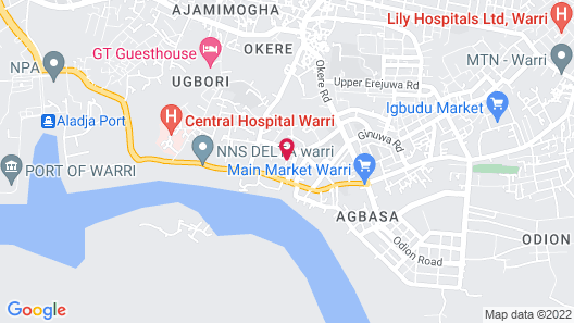 Peemos Place Warri Map
