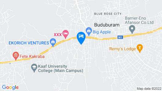 Nagino Lodge Map