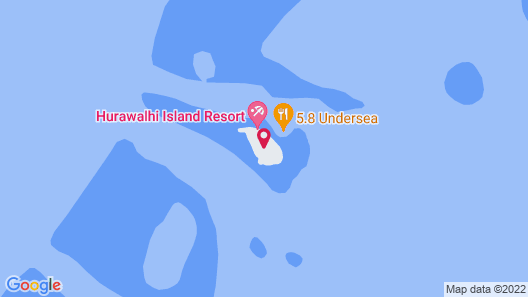Hurawalhi Island Resort Map