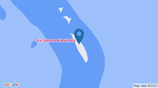 Kanuhura Maldives Map