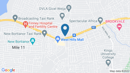 New Vision Hotel Map