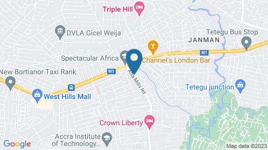 Eurospin Hotel  Map