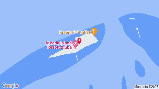 Kuredu Island Resort Map