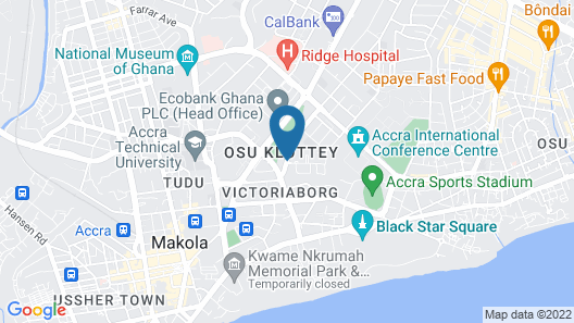 Kempinski Hotel Gold Coast City Map