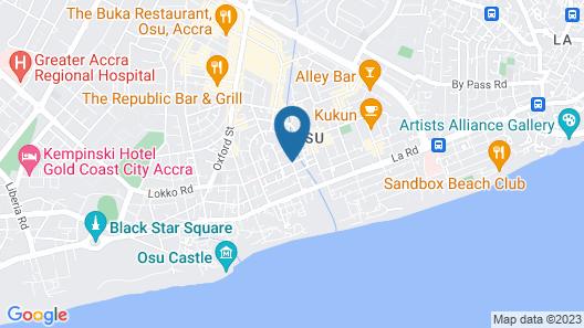 Okera Inn Map
