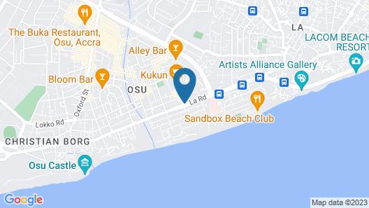Suncity Apartments Hotel Map