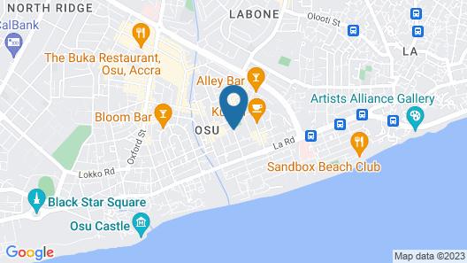 Brannic Lodge - Hostel Map