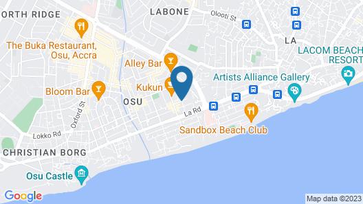 Hotel De Zews Map
